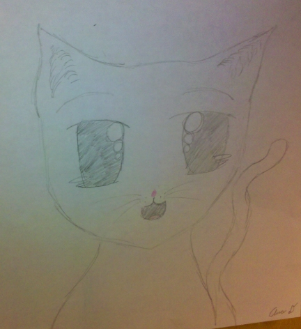 Ana's Cat Drawing